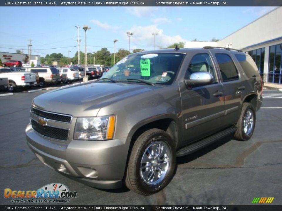 2007 Chevrolet Tahoe LT 4x4 Graystone Metallic / Dark Titanium/Light Titanium Photo #7 ...