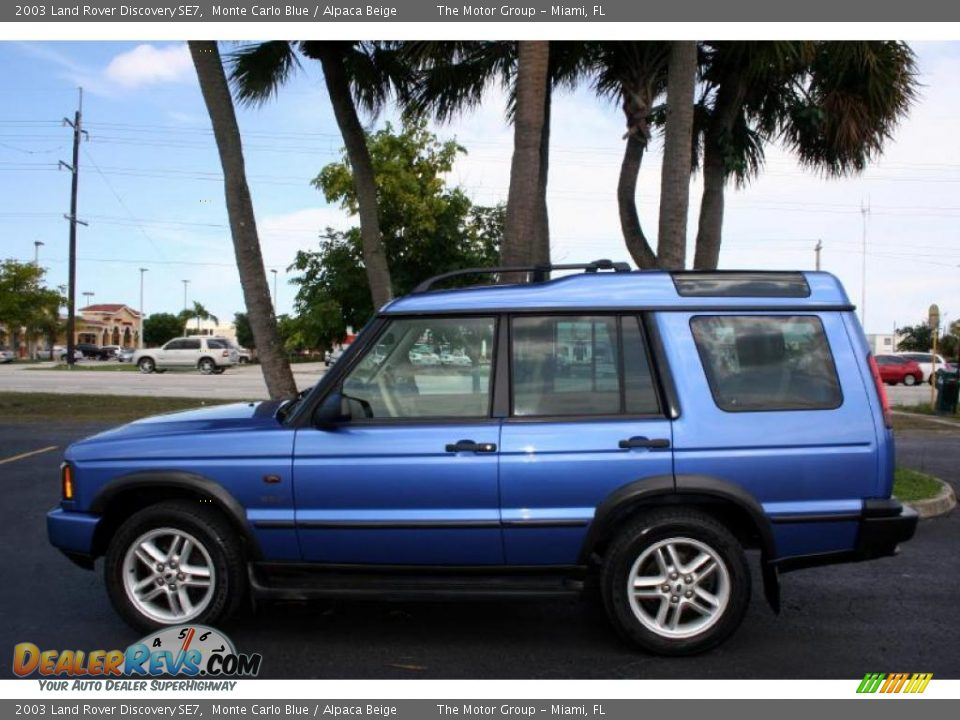 2003 land rover discovery se7 monte carlo blue alpaca beige photo 3. Black Bedroom Furniture Sets. Home Design Ideas