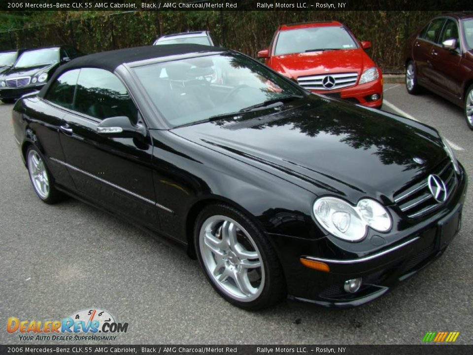 2006 mercedes benz clk 55 amg cabriolet black amg for 2006 mercedes benz amg