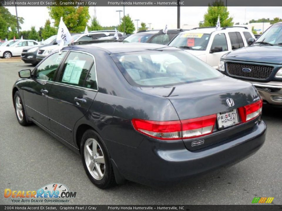 2004 Honda Accord Ex Sedan Graphite Pearl Gray Photo 2