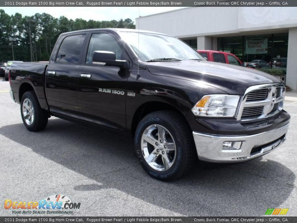 2011 dodge ram 1500 big horn crew cab rugged brown pearl light pebble beige bark brown photo. Black Bedroom Furniture Sets. Home Design Ideas
