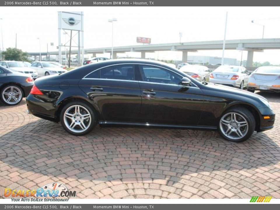 2006 Mercedes Benz Cls 500 Black Black Photo 6