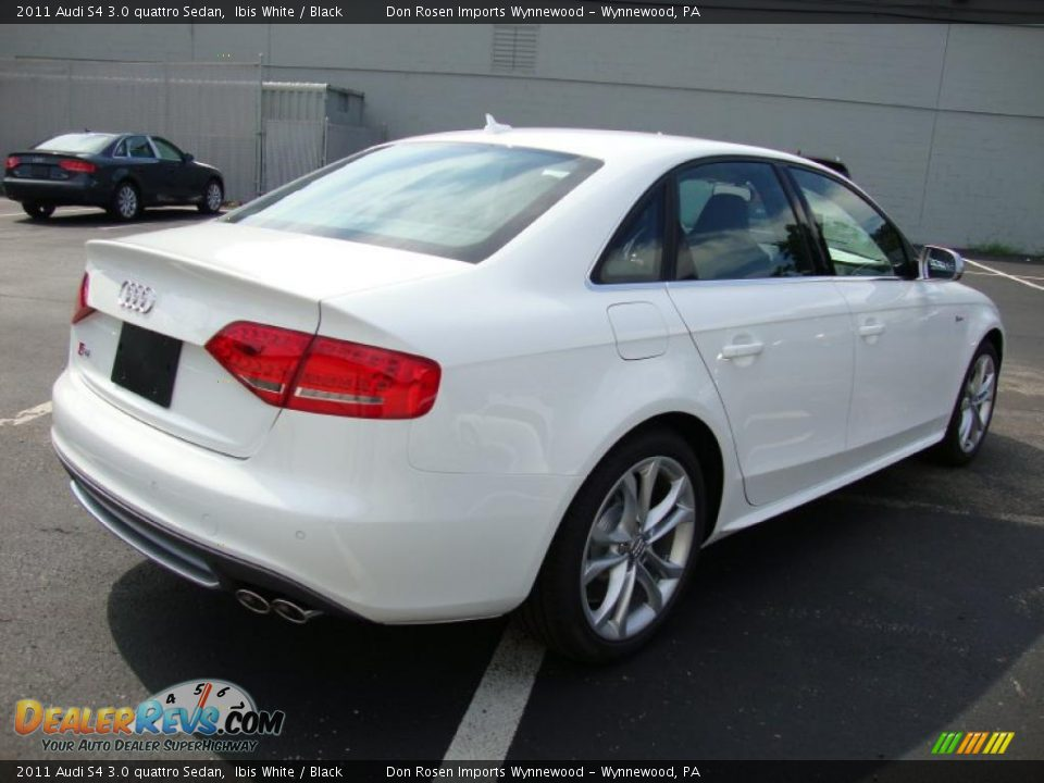 2011 audi s4 3 0 quattro sedan ibis white black photo 7. Black Bedroom Furniture Sets. Home Design Ideas