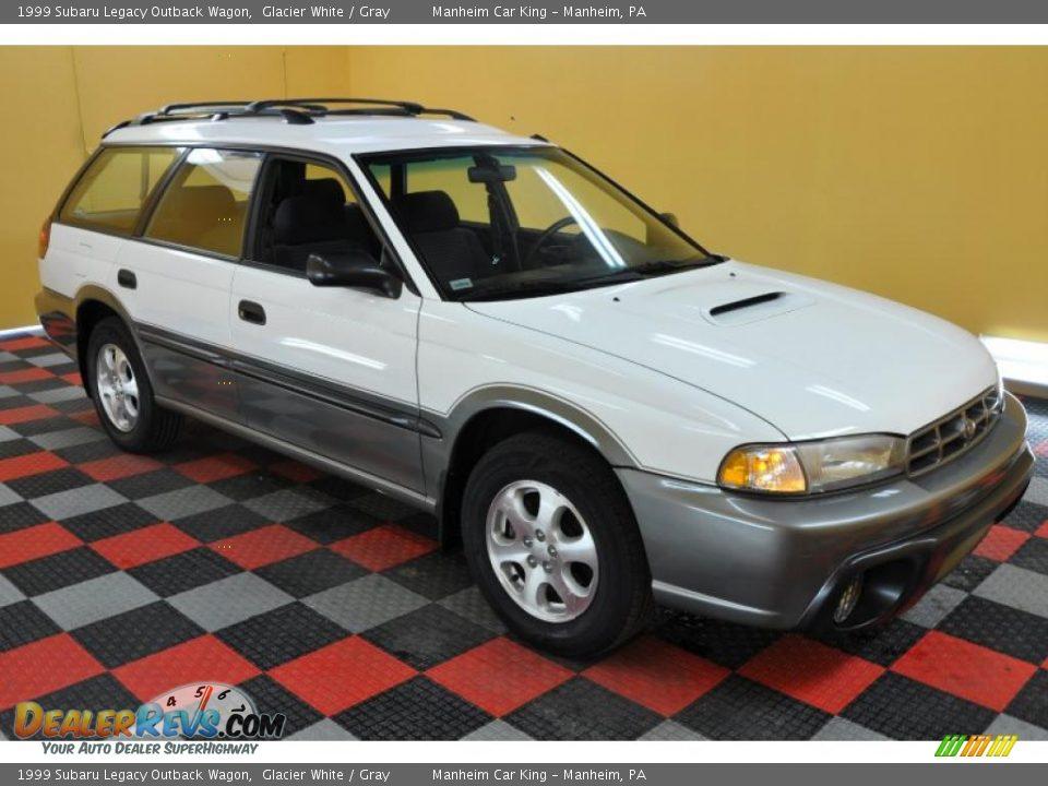 Subaru Outback 1999 >> 1999 Subaru Legacy Outback Wagon Glacier White / Gray Photo #1 | DealerRevs.com
