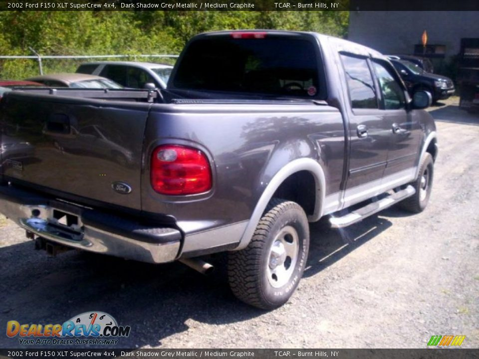 2002 ford f150 xlt supercrew 4x4 dark shadow grey metallic. Black Bedroom Furniture Sets. Home Design Ideas