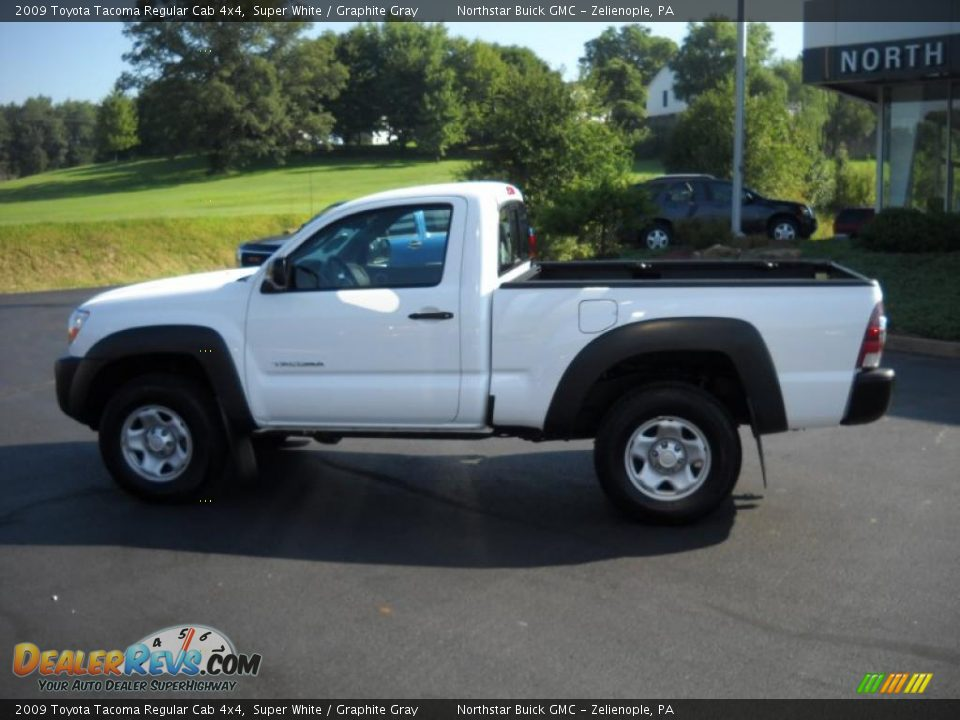 2009 toyota tacoma regular cab 4x4 super white graphite gray photo 8. Black Bedroom Furniture Sets. Home Design Ideas