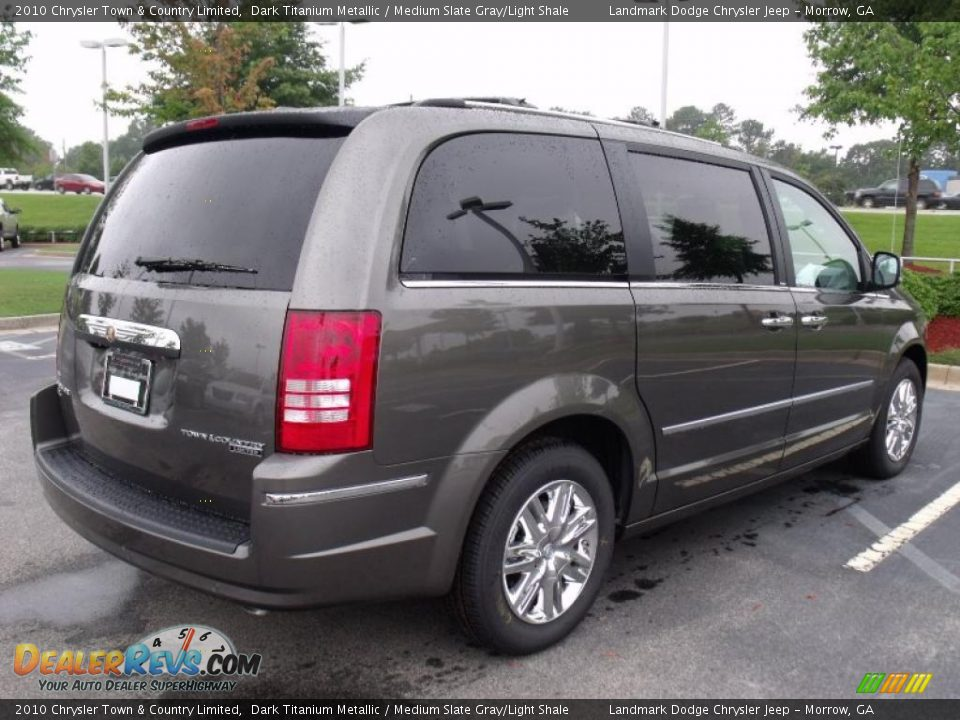 2010 Chrysler Town Amp Country Limited Dark Titanium
