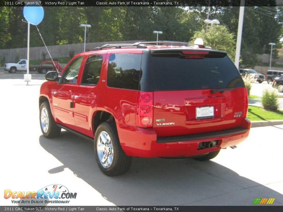 Victory Red Yukon Autos Post