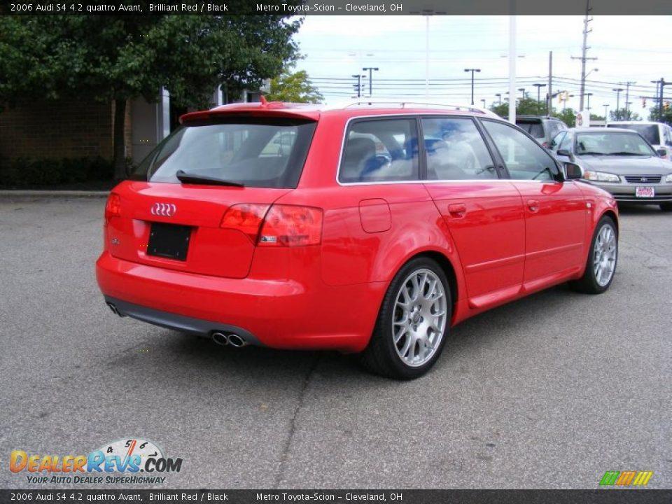2006 Audi S4 4 2 Quattro Avant Brilliant Red Black Photo