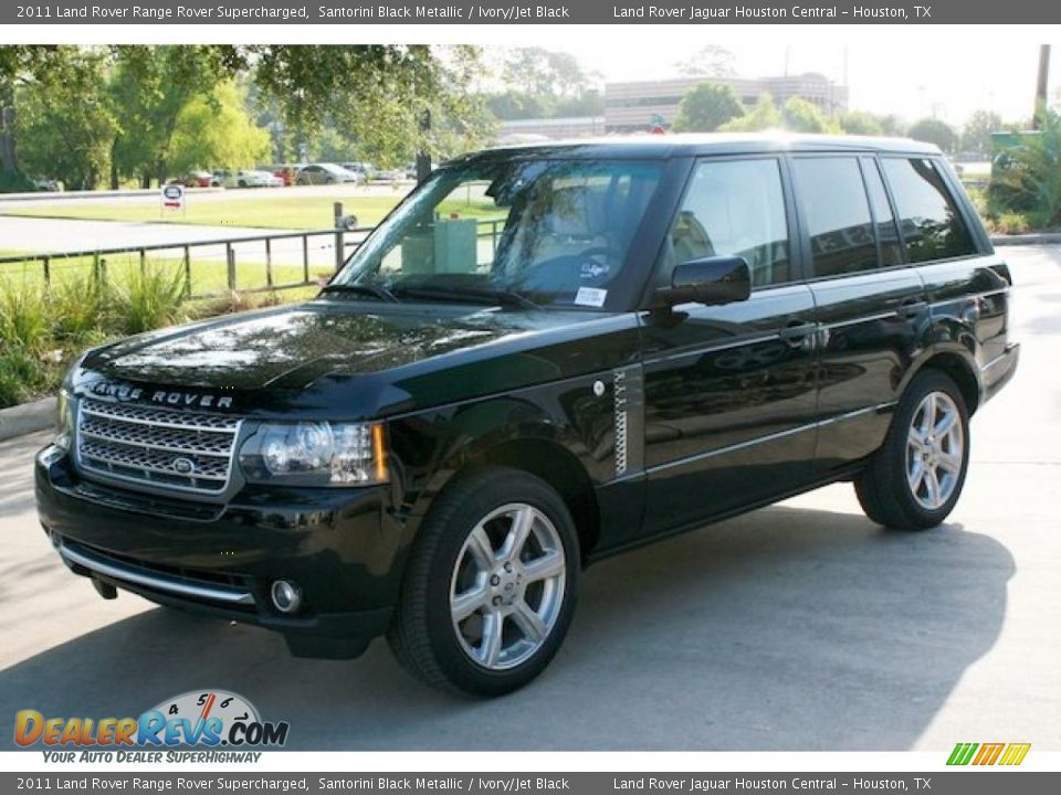 2011 Land Rover Range Rover Supercharged Santorini Black