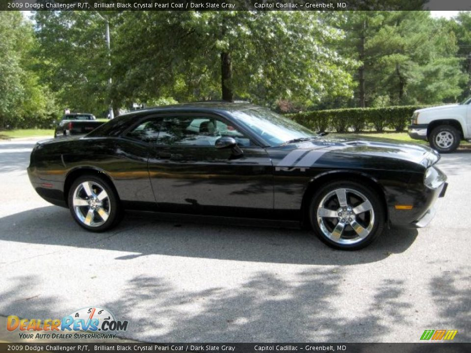 2009 Dodge Challenger R T Brilliant Black Crystal Pearl