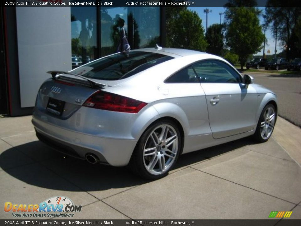 2008 audi tt 3 2 quattro coupe ice silver metallic black photo 6. Black Bedroom Furniture Sets. Home Design Ideas