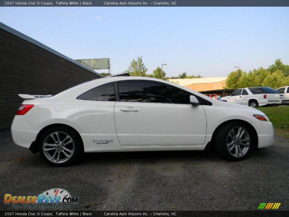2007 honda civic si coupe taffeta white black photo 9 for Honda civic si white