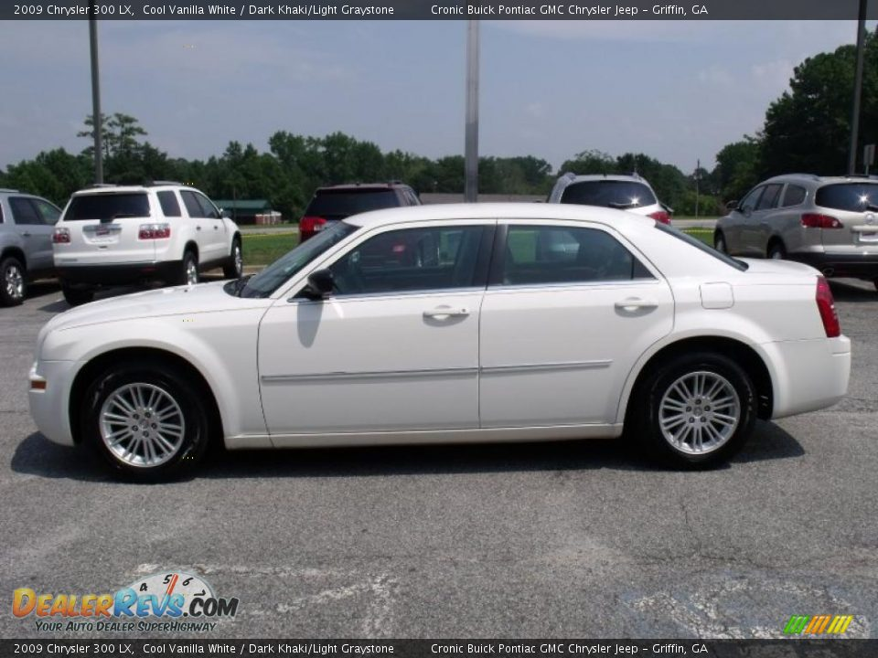 2009 Chrysler 300 Lx Cool Vanilla White Dark Khaki Light