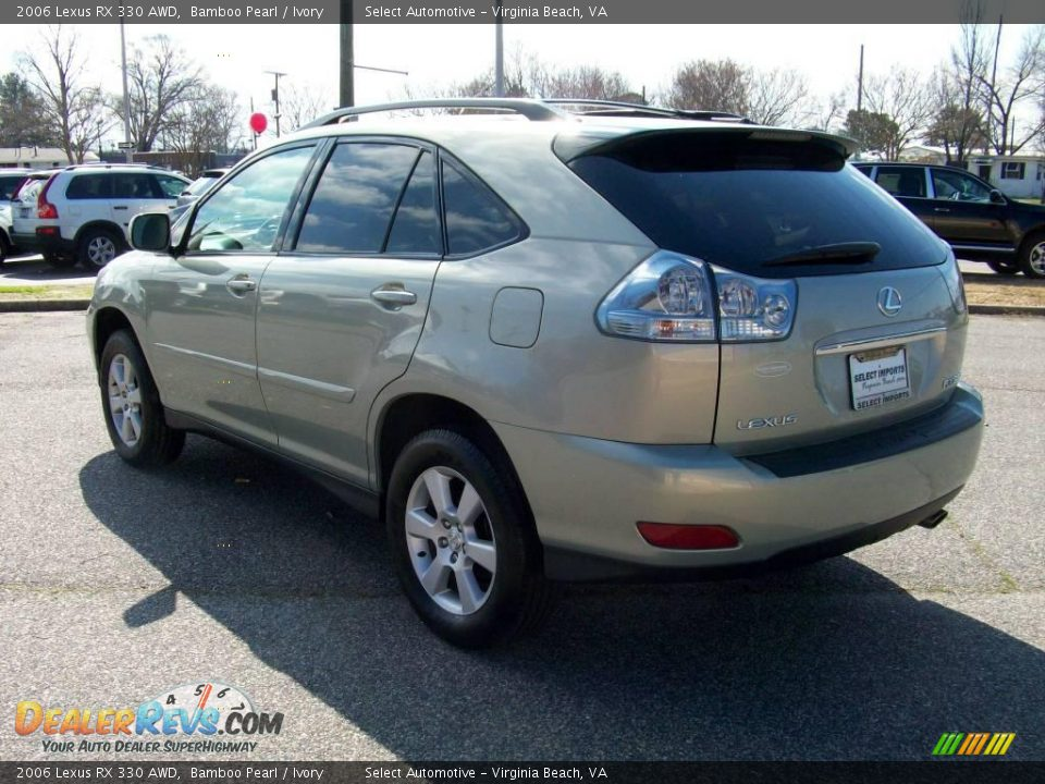 2006 lexus rx 330 awd bamboo pearl ivory photo 9 dealerrevs com