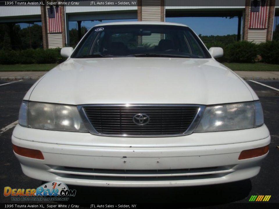 1996 Toyota Avalon Xl Super White Gray Photo 2