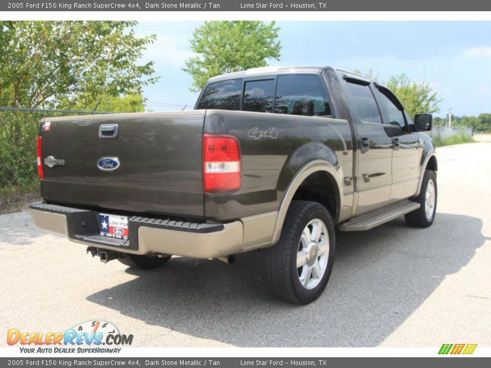 2005 Ford F150 King Ranch Supercrew 4x4 Dark Stone