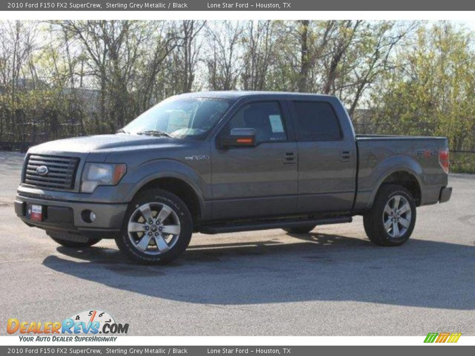 2010 ford f150 fx2 supercrew sterling grey metallic black photo 4. Black Bedroom Furniture Sets. Home Design Ideas