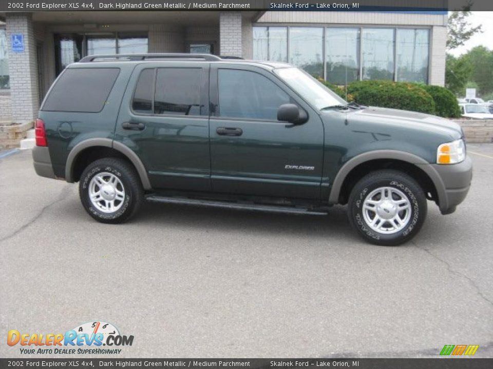 2002 Ford Explorer Xls 4x4 Dark Highland Green Metallic