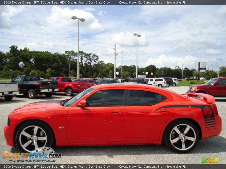 2009 Dodge Charger Srt 8 Super Bee Hemi Orange Pearl