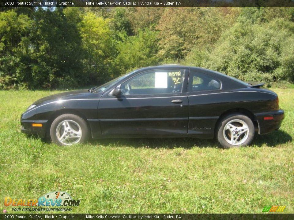 2003 pontiac sunfire black graphite photo 2 dealerrevs com dealerrevs com