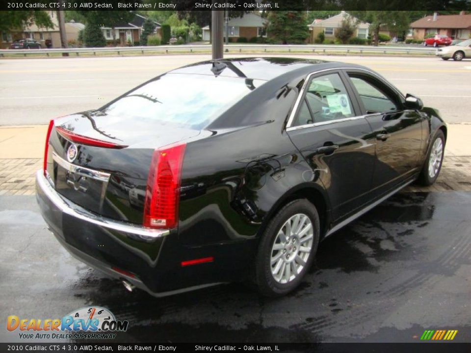 2010 cadillac cts 4 3 0 awd sedan black raven ebony. Black Bedroom Furniture Sets. Home Design Ideas