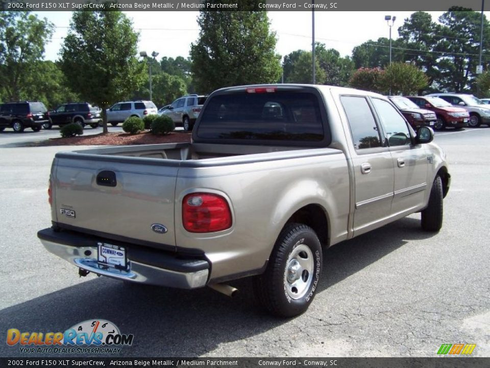 2002 ford f150 xlt supercrew arizona beige metallic. Black Bedroom Furniture Sets. Home Design Ideas