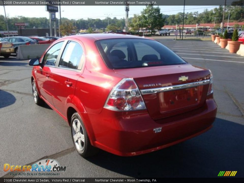Chevy New Cars 2008 Chevrolet Aveo LS Sedan Victory Red / Charcoal Photo ...