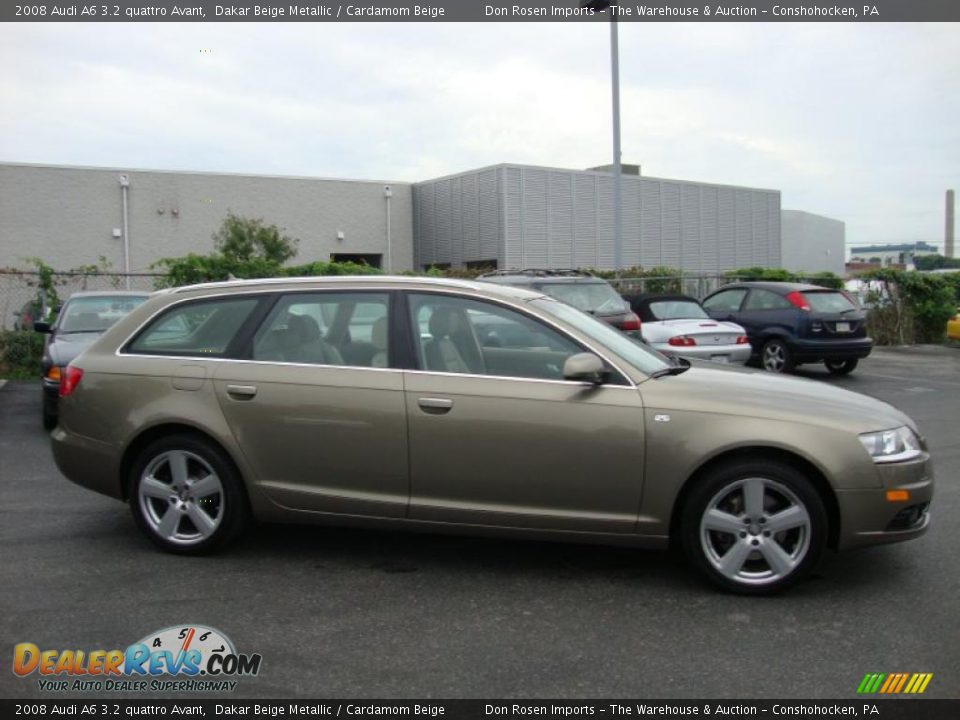 2008 audi a6 3 2 quattro avant dakar beige metallic cardamom beige photo 6. Black Bedroom Furniture Sets. Home Design Ideas