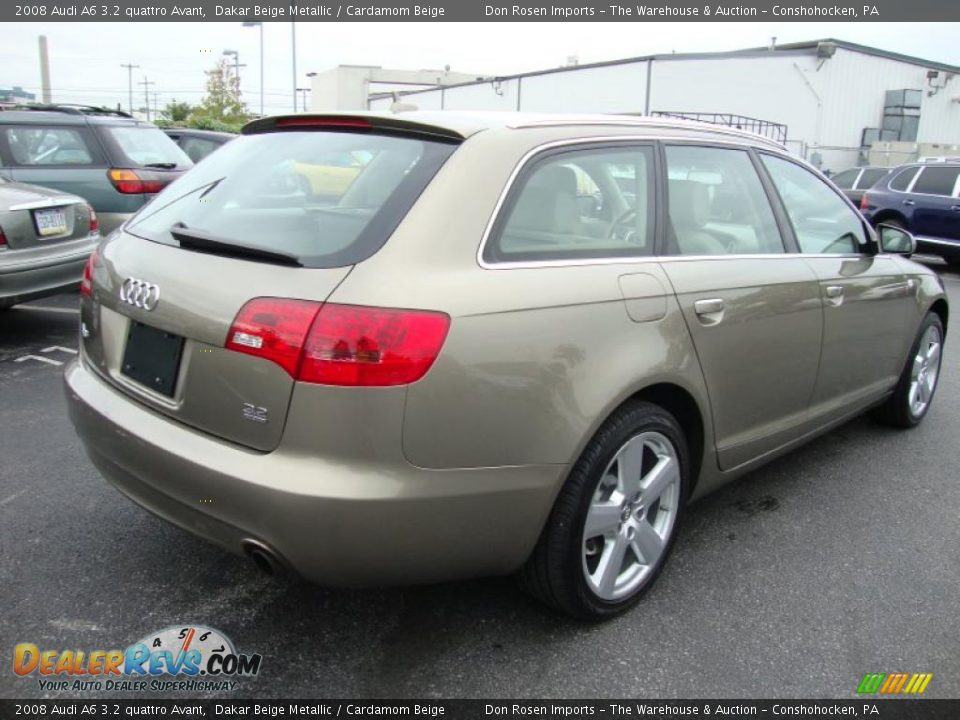 2008 audi a6 3 2 quattro avant dakar beige metallic cardamom beige photo 7. Black Bedroom Furniture Sets. Home Design Ideas
