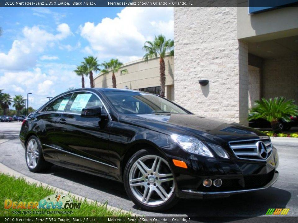 2010 mercedes benz e 350 coupe black black photo 4 for Mercedes benz e350 black
