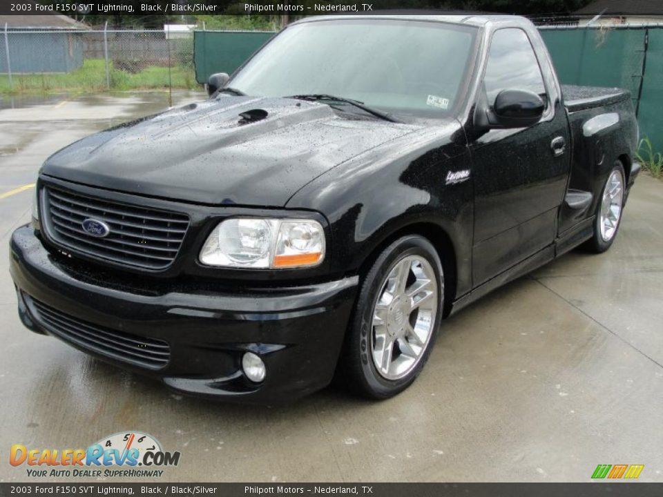 Ford Dealer Locator >> 2003 Ford F150 SVT Lightning Black / Black/Silver Photo #7 | DealerRevs.com