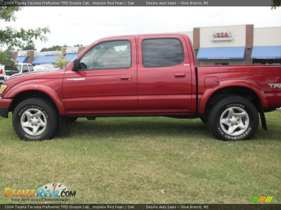 2004 toyota tacoma prerunner trd double cab impulse red. Black Bedroom Furniture Sets. Home Design Ideas