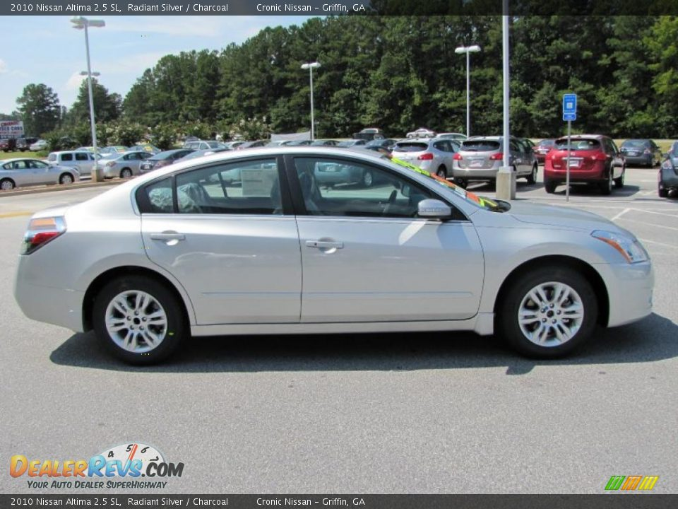 2010 Nissan Altima 2 5 Sl Radiant Silver Charcoal Photo