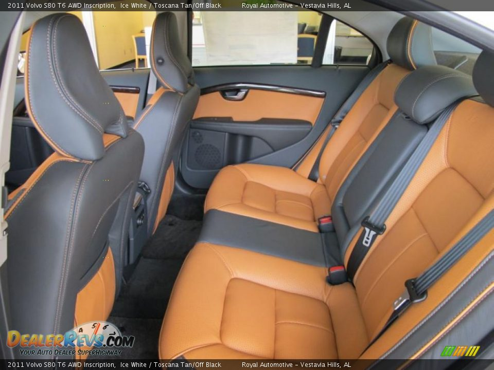 2011 volvo s80 t6 awd inscription ice white toscana tan off black photo 8. Black Bedroom Furniture Sets. Home Design Ideas