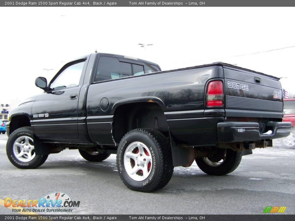 2001 dodge ram 1500 sport regular cab 4x4 black agate photo 6. Black Bedroom Furniture Sets. Home Design Ideas