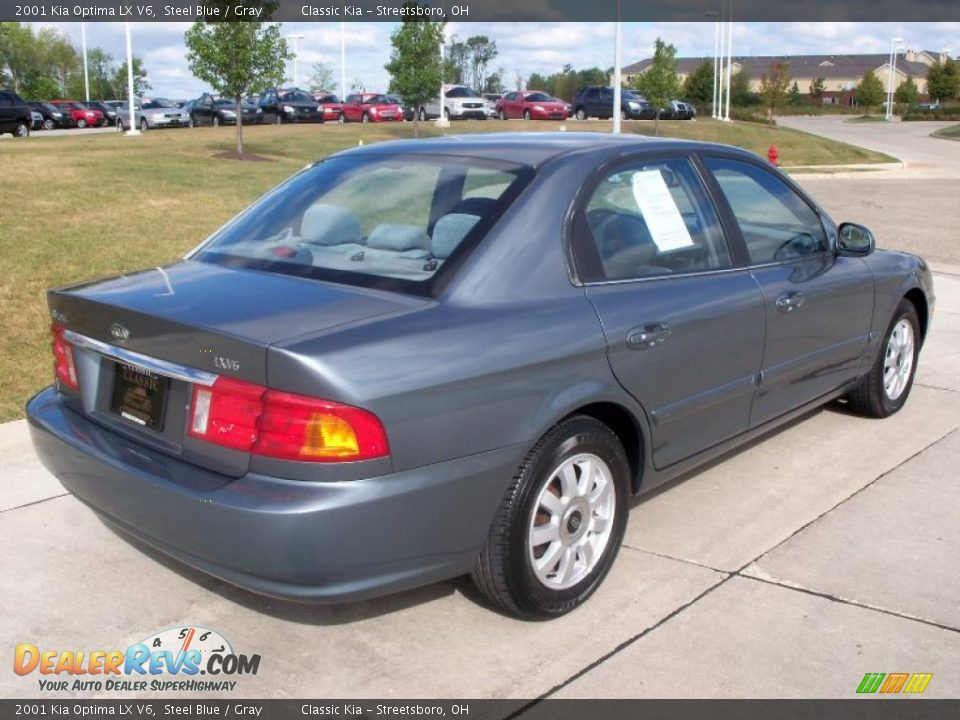 2001 kia optima lx v6 steel blue gray photo 6. Black Bedroom Furniture Sets. Home Design Ideas