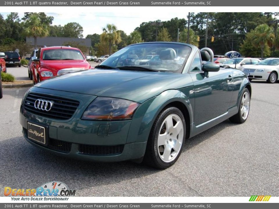 2001 audi tt 1 8t quattro roadster desert green pearl. Black Bedroom Furniture Sets. Home Design Ideas