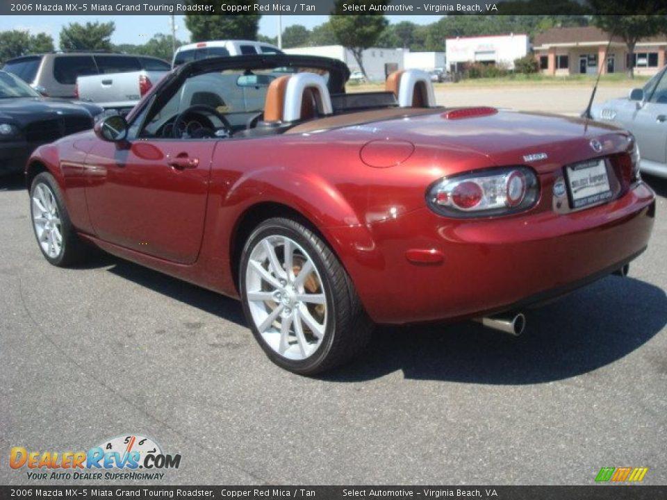 2006 Mazda Mx 5 Miata Grand Touring Roadster Copper Red