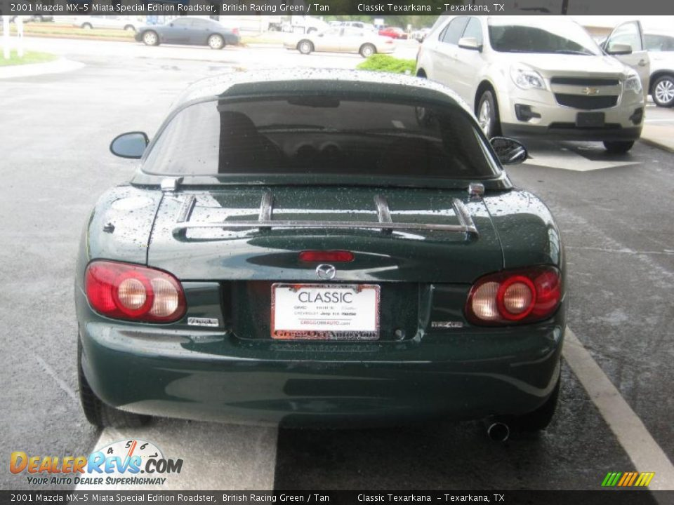 2001 Mazda Mx 5 Miata Special Edition Roadster British