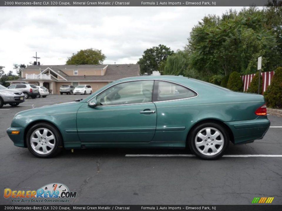 2000 mercedes benz clk 320 coupe mineral green metallic for 2000 mercedes benz clk 320