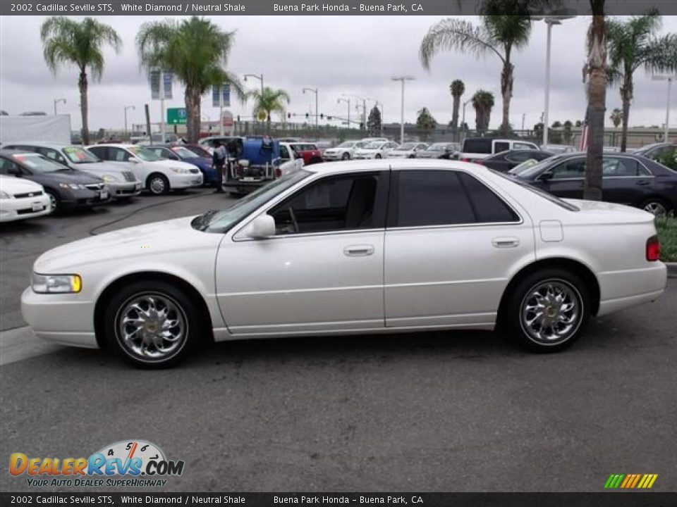 2002 cadillac seville sts white diamond neutral shale. Cars Review. Best American Auto & Cars Review