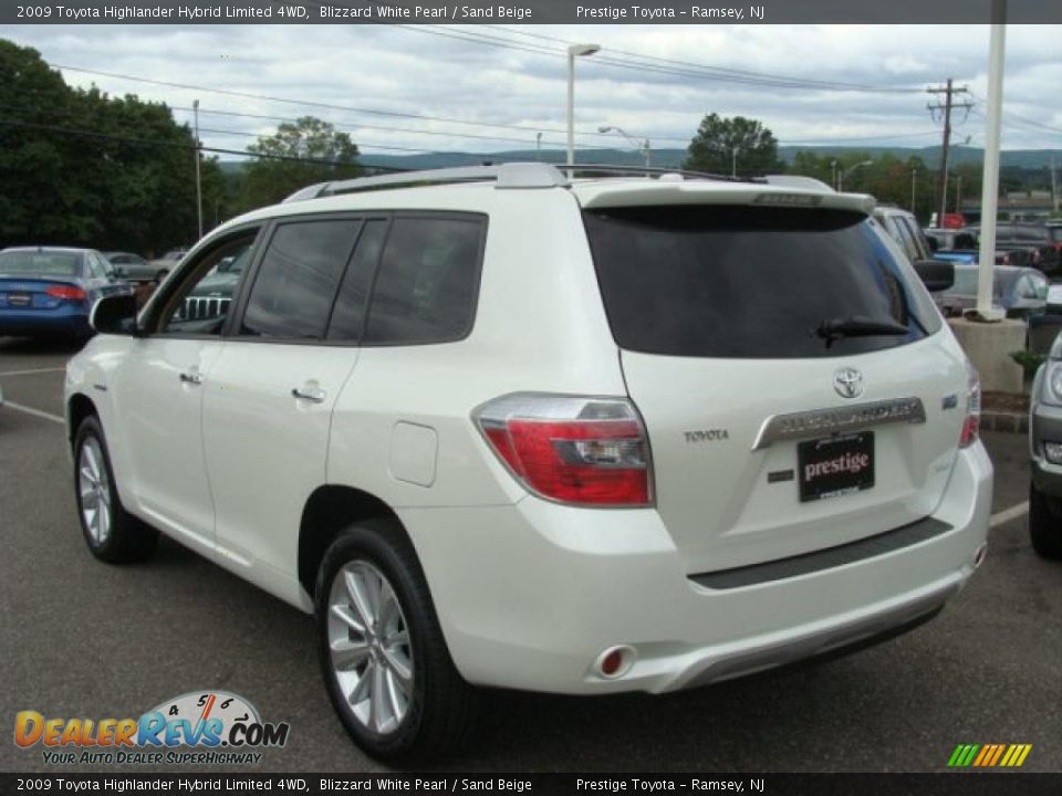 2009 toyota highlander hybrid limited 4wd blizzard white. Black Bedroom Furniture Sets. Home Design Ideas