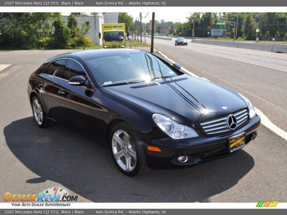 2007 mercedes benz cls 550 black black photo 2 for 2007 mercedes benz cls