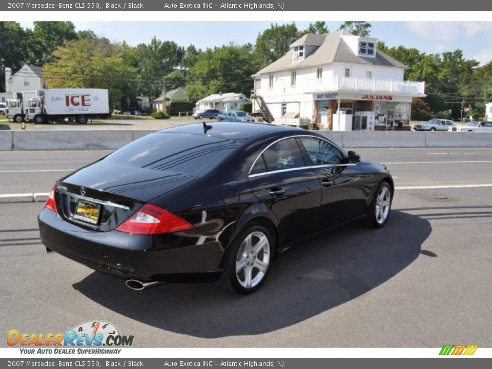 2007 mercedes benz cls 550 black black photo 3 for 2007 mercedes benz cls