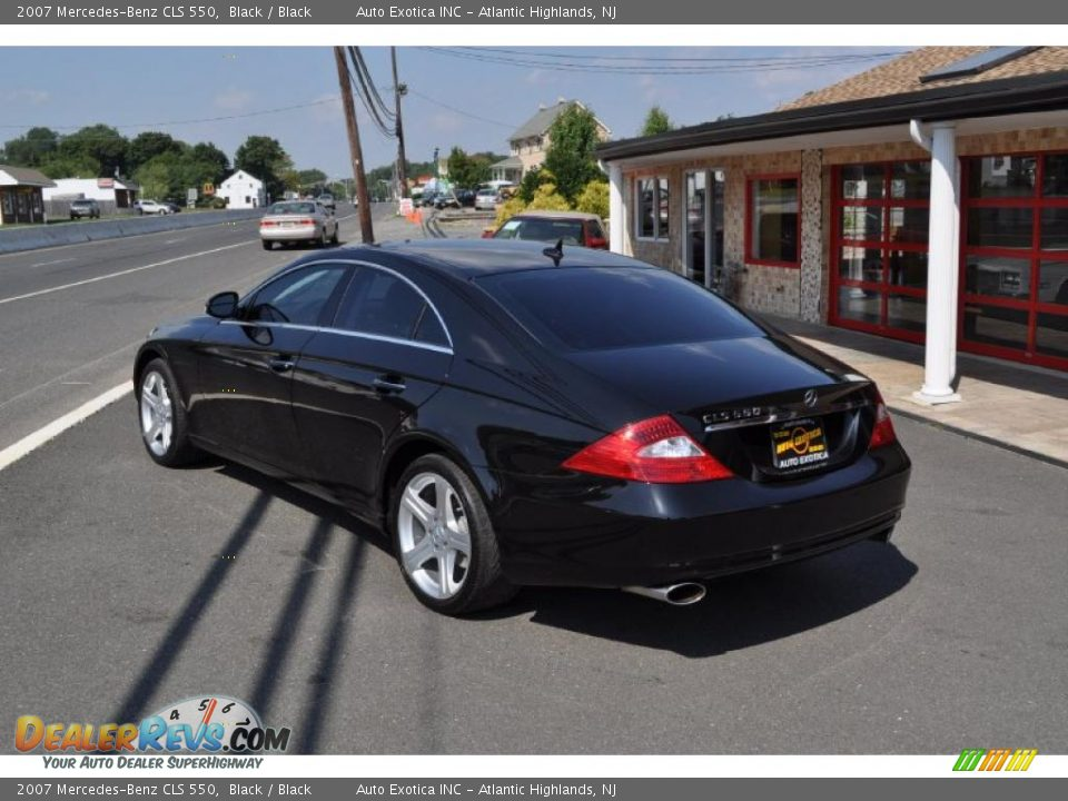 2007 mercedes benz cls 550 black black photo 4 for 2007 mercedes benz cls