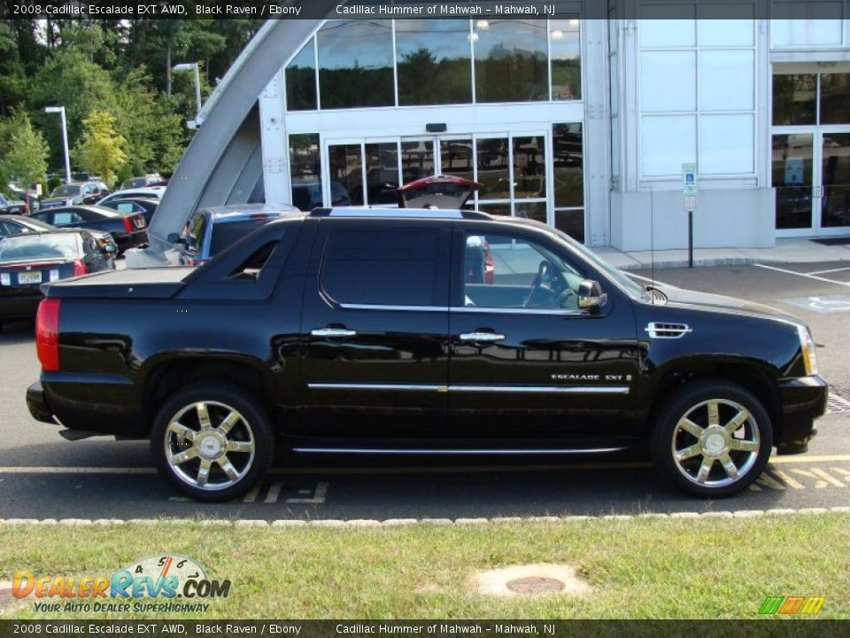 2008 cadillac escalade ext awd black raven ebony photo 7. Black Bedroom Furniture Sets. Home Design Ideas