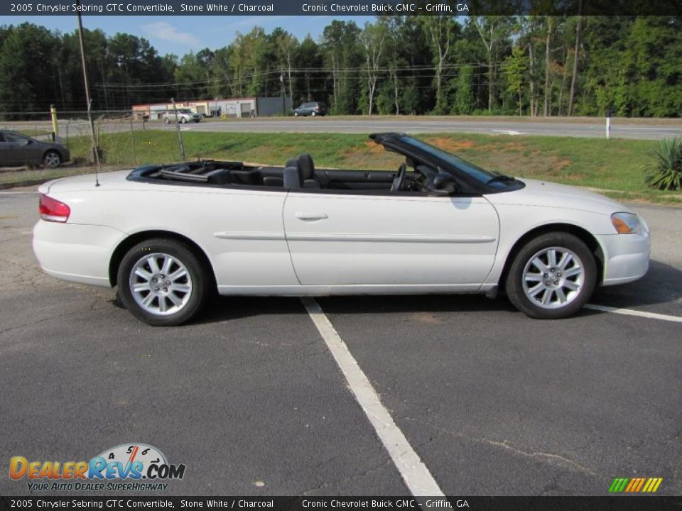 2005 chrysler sebring gtc convertible stone white charcoal photo 8. Black Bedroom Furniture Sets. Home Design Ideas