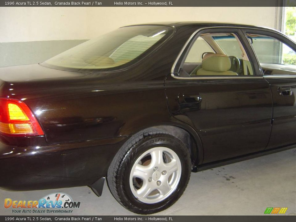 1996 acura tl 2 5 sedan granada black pearl tan photo 8. Black Bedroom Furniture Sets. Home Design Ideas