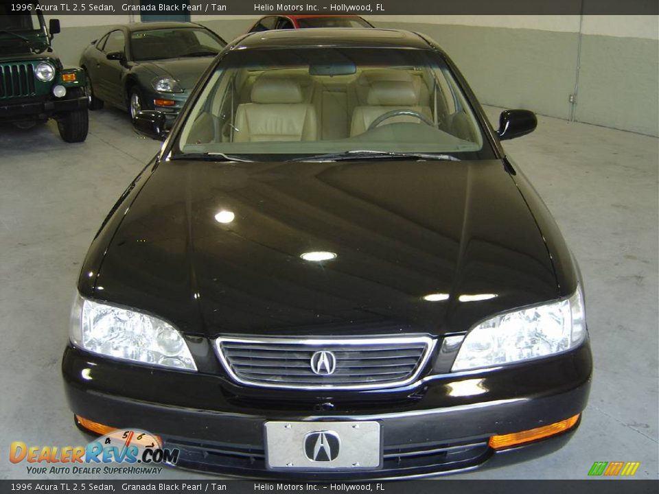 1996 acura tl 2 5 sedan granada black pearl tan photo. Black Bedroom Furniture Sets. Home Design Ideas
